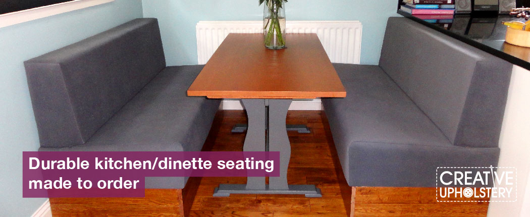 kitchen/dinette seating area