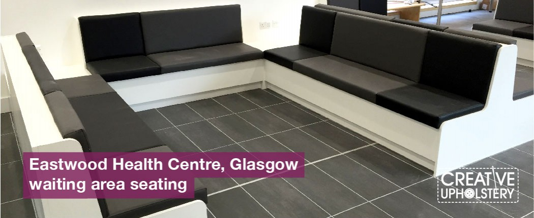 Eastwood health centre Glasgow waiting area