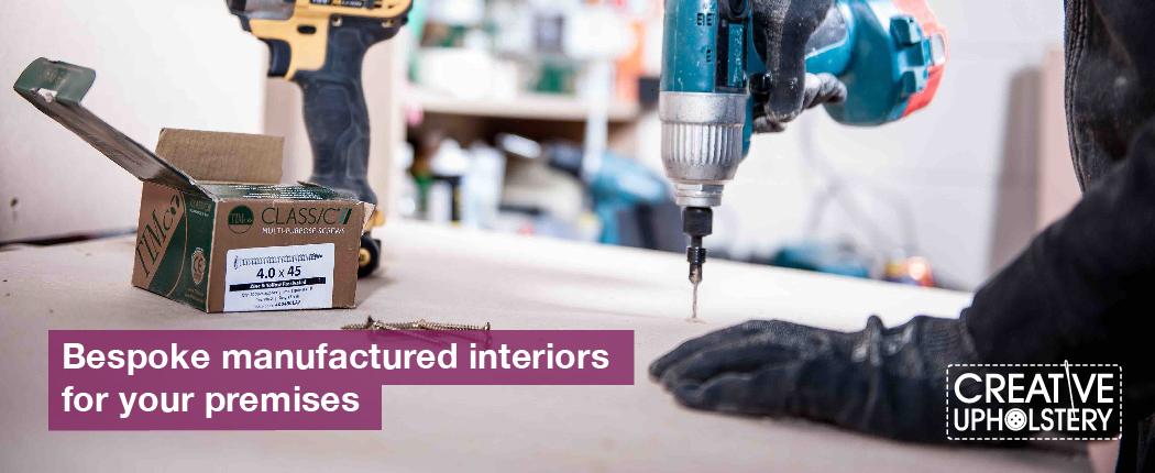 Creative Upholstery Manufacturing Page Banner